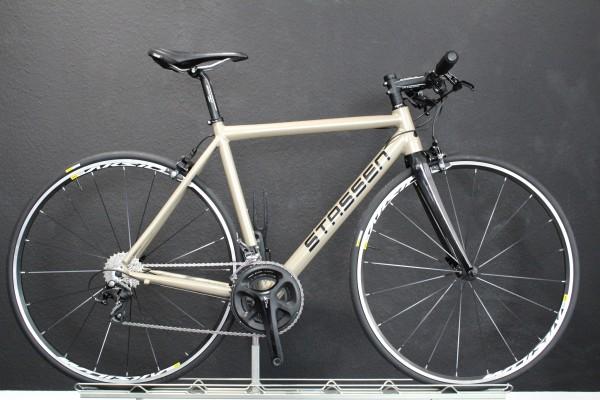 Stassen- Race / Rennrad / Fitnessbike, Shimano 105, 22 Gang, perlbeige (RAL1035)
