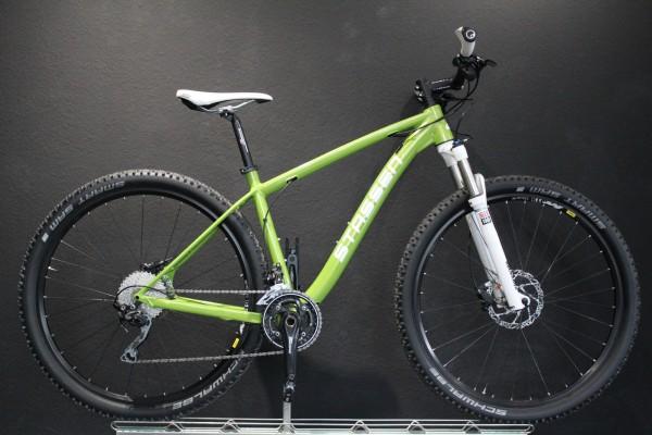Stassen- MTB-Hardtail, Deore, 10- fach, 30 Gang, Green glänzend ( RS Green), 30-Gang Kettenschaltung
