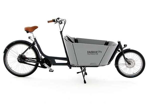 Babboe City Mountain, E-Lastenrad Kinder / Lasten-Ebike, E-Cargo-Lastenrad, Yamaha Mittelmotor 2019