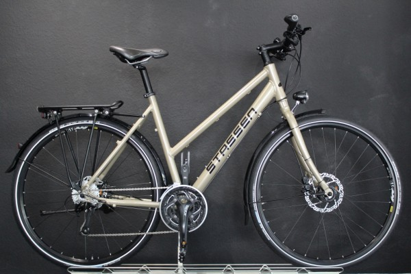 Stassen- Trekkingrad, Twinroad Lite LX, 30 Gang, Perlbeige (RAL 1035)