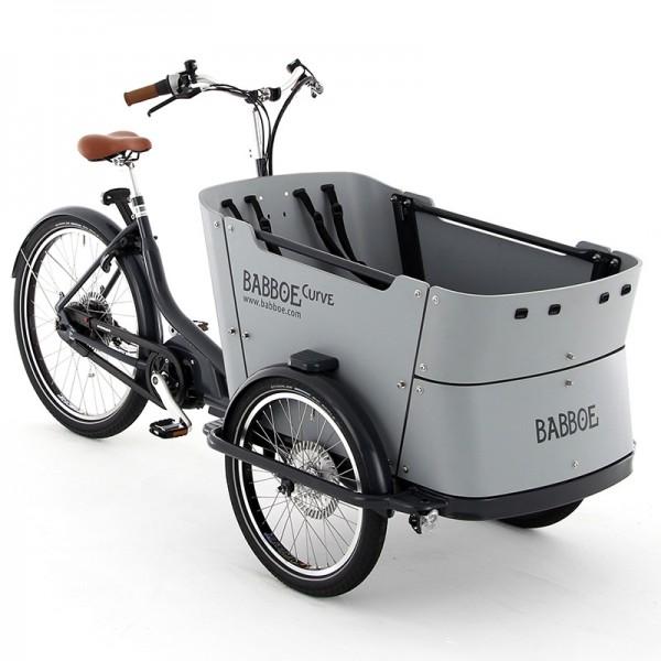 Babboe Curve Mountain, E-Lastenrad Kinder / Lasten-Ebike, E-Cargo-Lastenrad, Yamaha Mittelmotor 2019