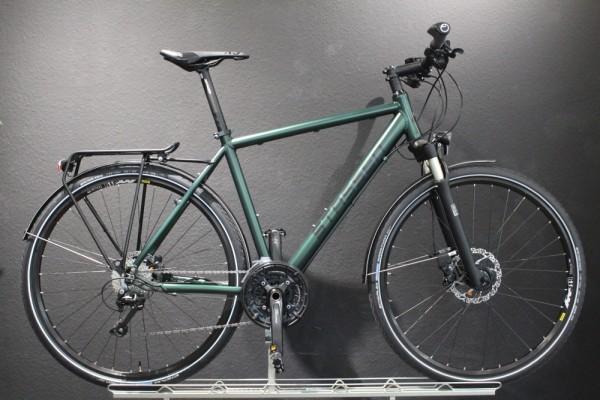 Stassen- Trekkingrad, Twinroad Lite Deore, 30 Gang, RAL SF Brit.-Race-Green